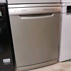 NEW Essentials CDW60S16 Full Size Dishwasher Silver A++ New