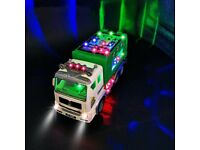 HUANDATONG Garbage Truck / Bin Lorry Toy (NEW in Box)