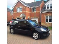 FORD FIESTA 1.2 STYLE, BLACK, MOT FEB 2017, ONE PREVIOUS OWNER, HPI CLEAR