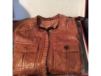 Catimini real leather jacket