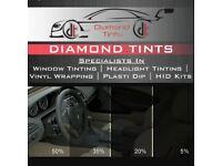 Diamond window tints (£80!)