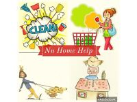 Home Help, Cleaning, Pet Sitting, House Sitting, Shopping