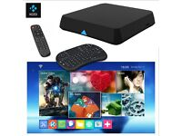 NEW - 2GB Android TV Box ✔Fully Loaded ✔LiveTV & Sports✔Latest Films✔Auto Update - FREE Keypad