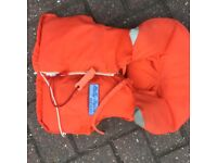 Belly Hanson child's life jacket 2.7/ 3.7 stone 35/ 45 lb