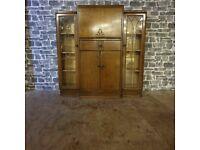 Antique Display Cabinet/Writing Bureau