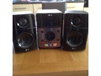 L G Micro Hi Fi system X A 64