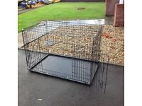 Dog Pen with floor tray. And Dog carry Case