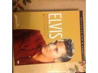 Elvis Presley book and DVD set