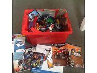 Crate of Lego/megabloks