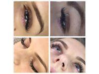 volume eyelashes extension