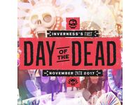 Inverness's First Day of the Dead Tickets - **Price reduced**