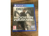 Call of duty-Modern warfare PS4