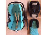 Maxi-Cosi Cabriofix Car Seat & Isofix Base (Very Good Condition)