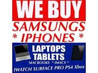 WANTED SAMSUNG GALAXY NOTE S8 S9 PLUS A3 A5 IPHONE X 8 7 SE MACBOOK IPAD APPLE WATCH SERIES 3