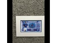 Signed Ally McCoist Banknote
