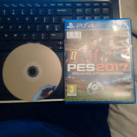 PES 2017 PS4 Playstation 4 Used in perfect working order and very good condition