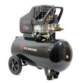 Richmond 50ltr air compressor (brand new)