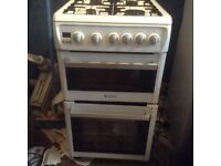Gas cooker ,hot point,£85.00