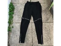 Zara zipped joggers size small
