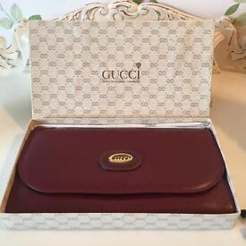 Genuine Vintage Gucci Wallet with Box