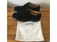 APC, Men's, Suede, Leather, Black, size 45euro 11UK