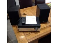 Sony home audio system CMT-SBT100/100B. VGC, blue tooth, instructions included.