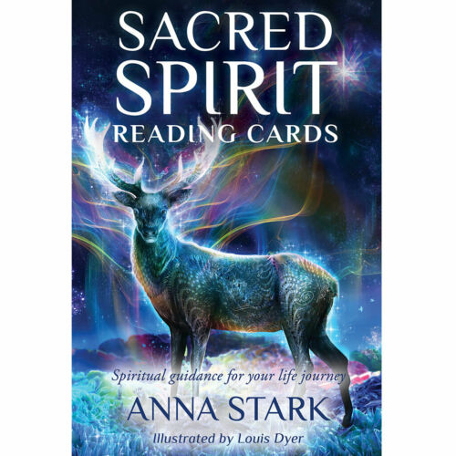 Sacred Spirit Reading Cards (2019) NEW Oracle Divination Deck w/ Booklet