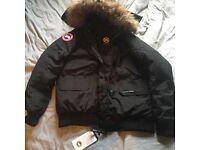 Canadian goose down jacket . Size medium