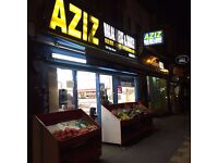 Shop for sale - Halal Meat, Bakery, Fruit&Veg and Grocery