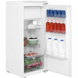 NEW Candy CIO225EE Integrated Built In Upright 54cm Fridge With Ice Box A++ 163L - RRP £309