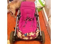 Mama and papa pushchair for sale