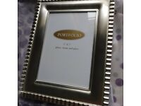 "Silver plated 8"" x 10"" photo Frame"