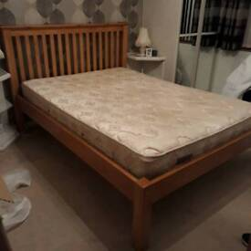 As NEW double bed.
