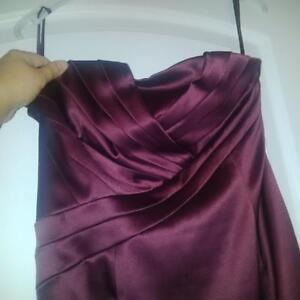 RW and Co Plum Dress, size 4 London Ontario image 1