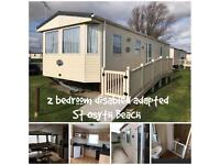 2 bedroom disabled Caravan for hire