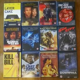 25 DVD's for £20 - Great Titles! Thriller & Action