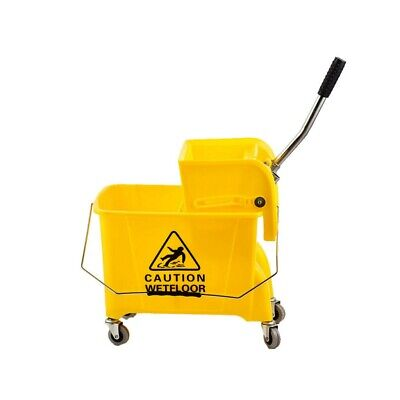 20L Large Mop Bucket on Wheels Commercial Cleaning