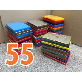 Coloured DVD Empty Cases - x55