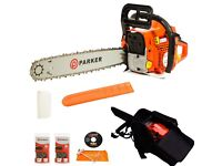58cc chainsaw for sale brand new never been used looking for £75 NO MORE TIME WASTERS