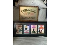 Guinnesss picture and mirror