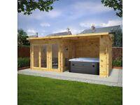 Garden rooms sheds summer house