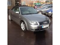 2004/54 Audi A4 2.5 tdi convertible with full service history