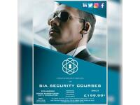 SIA DOOR SUPERVISOR & CCTV OPERATOR COURSES