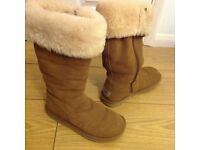 Womens limited edition chestnut ugg boots