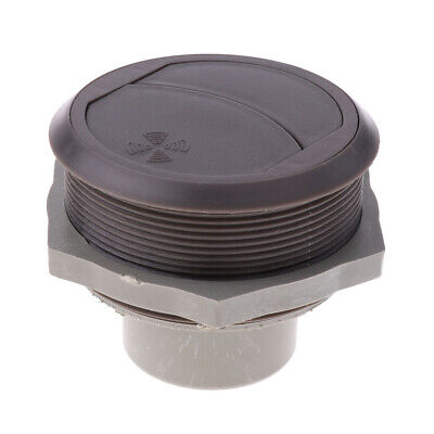 Brown RV Motorhome Truck Trailer Side Roof Air Vent Ventilation Outlet Brown Roof Vent