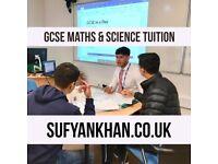 Mr Khan's GCSE Maths & Science Tuition. Qualified Teacher. Tutor for Biology, Chemistry & Physics