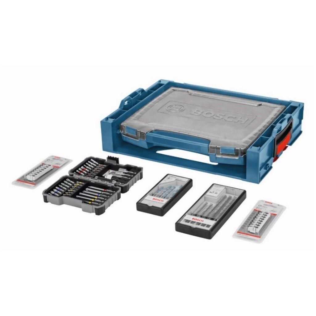 Bosch 68-tlg. Zubehör i-BOXX active rack kombinierbar mit L-BOXX Bits Bohrer