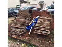 Old Paving slabs - FREE on collection