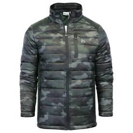 Mens Money Clothing Camo Bubble Jacket