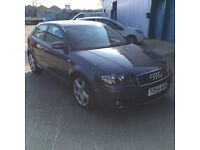 Audi A3 tdi sport grey